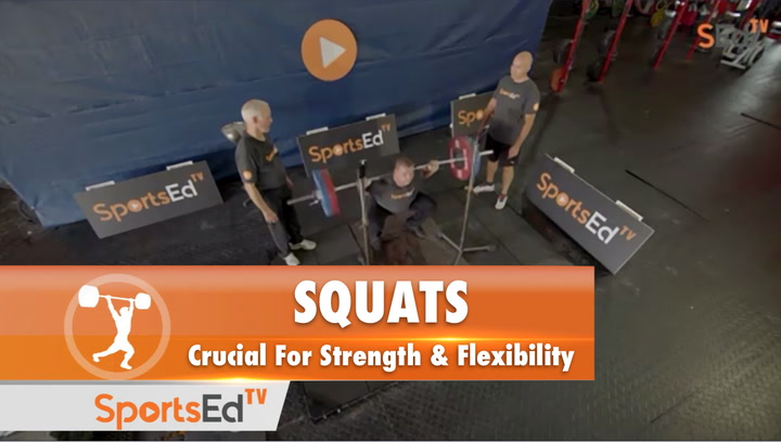 The Squat : Crucial For Strength and Flexibility