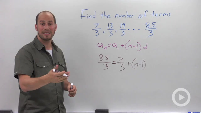 Arithmetic Sequences - Problem 4