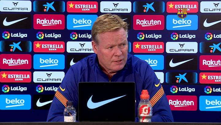 Koeman habla de la relación que hay entre Messi y Griezmann