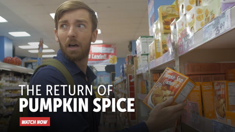 The Return of Pumpkin Spice
