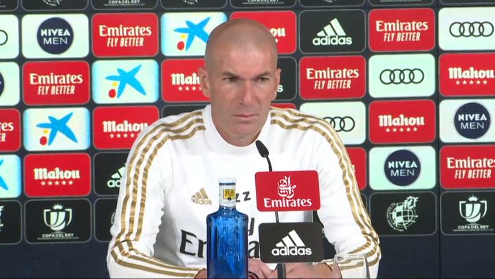 Zidane da positivo por coronavirus y no viajará a Vitoria