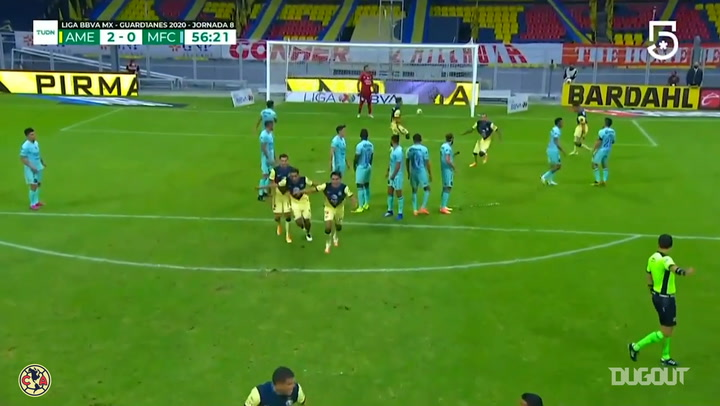 Richard Sánchez's great free-kick goal vs Mazatlán