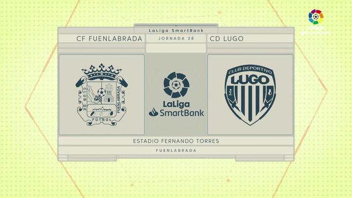LaLiga SmartBank (J28): Resumen y goles del Fuenlabrada 0-1 Lugo