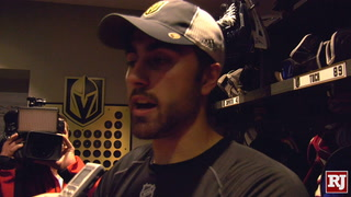 Forward Alex Tuch On How All Four Lines Helped Defense