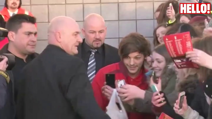 One Direction star Louis Tomlinson makes his Doncaster Rovers debut