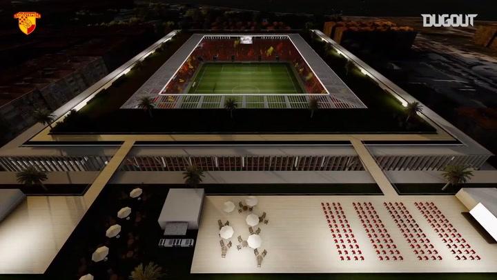 Göztepe Gürsel Aksel Stadyumu 3D Animasyonu