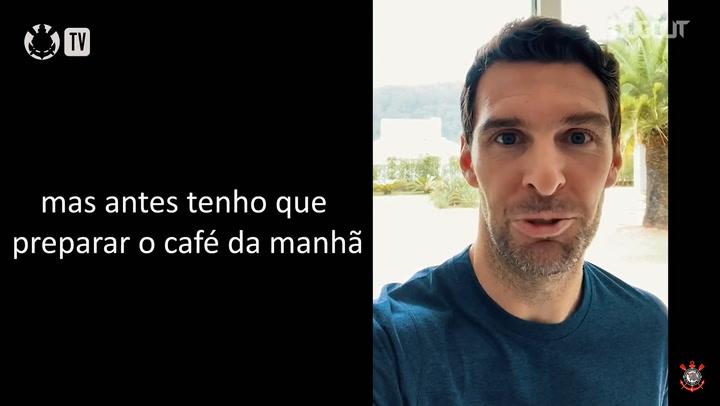 Empanadas e treino: Boselli mostra seu dia durante a quarentena