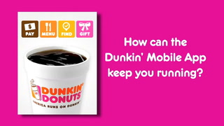 Dunkin' Donuts' mobile payments platform