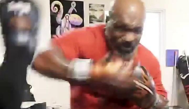 Tyson sorprende a todo el mundo con su brutal estado de forma