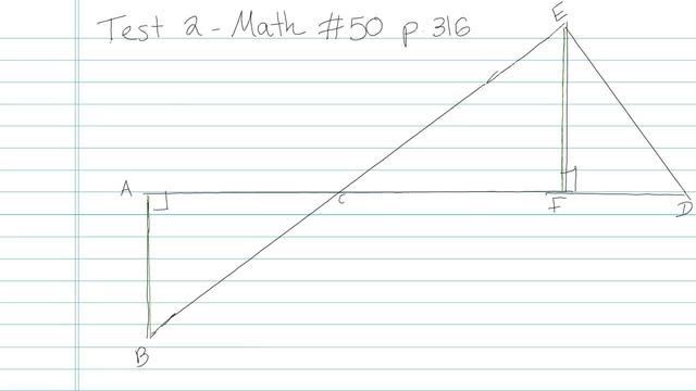 Test 2 - Math - Question 50