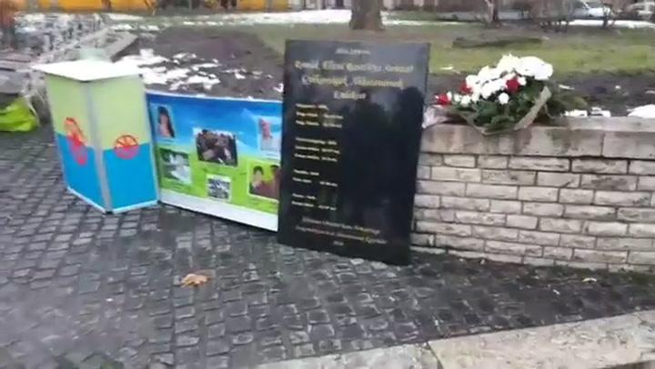 Emlékezés a tatárszentgyörgyi áldozatokra