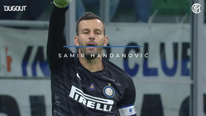 Samir Handanović's best 2019-20 Serie A campaign saves