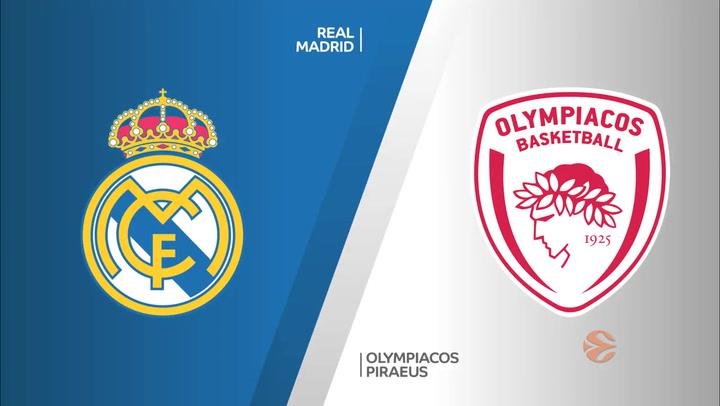 Euroliga Real Madrid - Olympiacos Piraeus