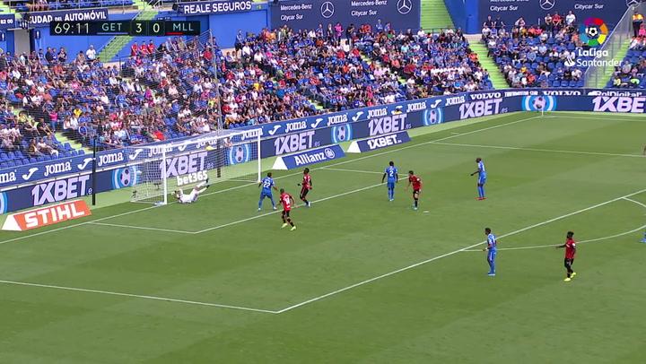 Gol de Budimir (3-1) en el Getafe 4-2 Mallorca