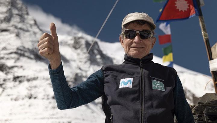 """Carlos Soria ya ha llegado al campo base del Dhaulagiri (8.167m) : """"No ha sido fácil"""""""
