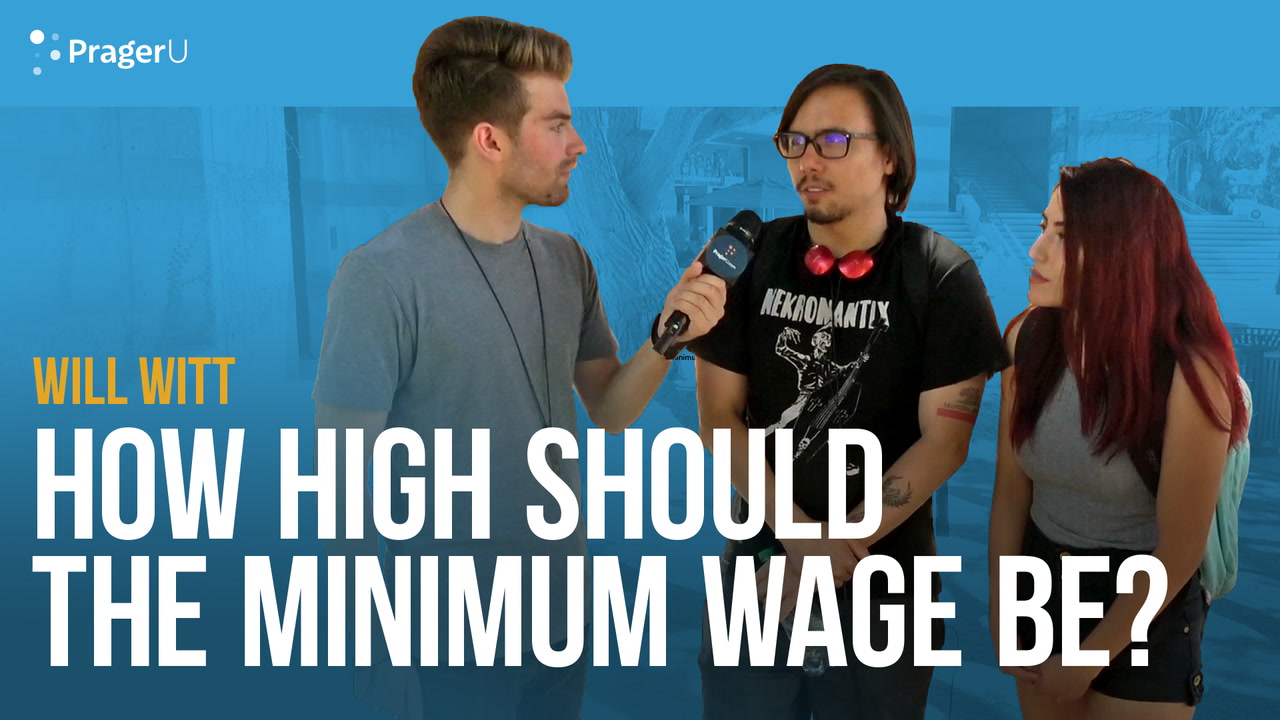 How High Should The Minimum Wage Be?