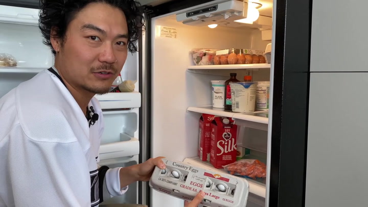 What's In Your Fridge: Dumbfoundead