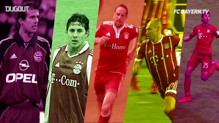 FC Bayern's Top Five Bundesliga Goals Vs Dortmund