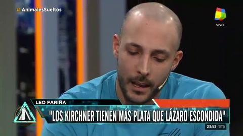Fariña reconoció que Lázaro Báez no habla por lealtad a Néstor