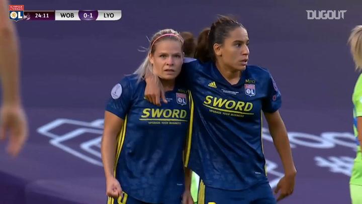 Olympique Lyonnais Women beat Wolfsburg in Champions League Final