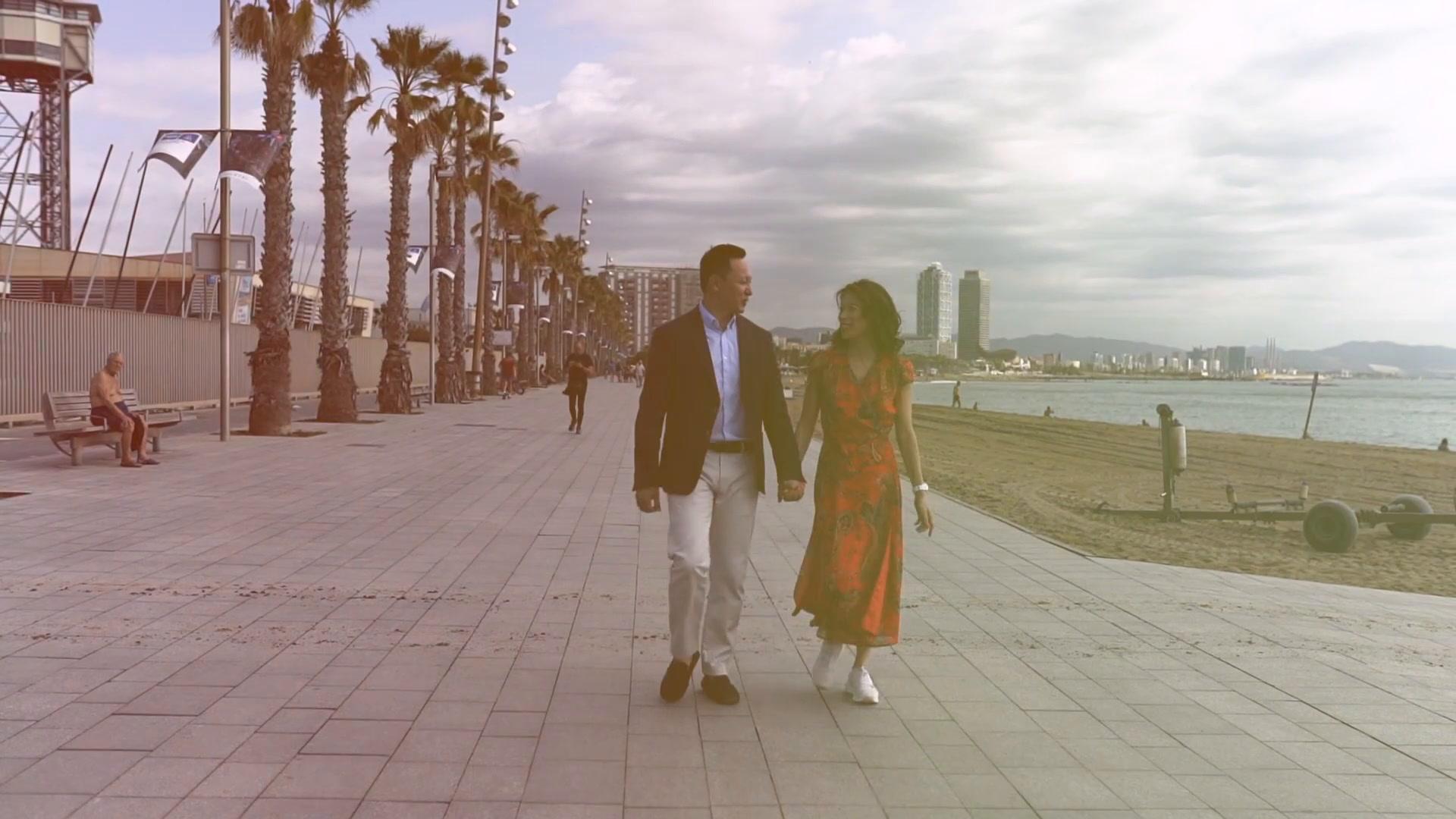 Vivian + George   Barcelona, Spain   Ciudadella