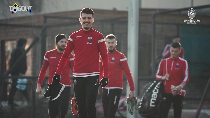 KF Shkëndija's last session in Tetovo
