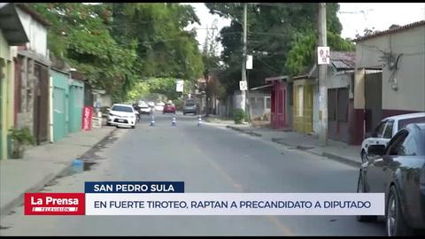 En fuerte tiroteo, raptan a precandidato a diputado en Honduras