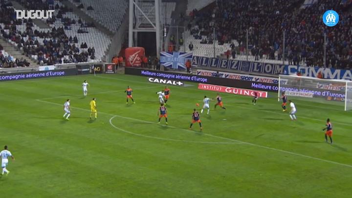 All Florian Thauvin's goals vs Montpellier