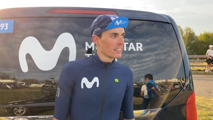 Enric Mas valora su quinto puesto en el Tour