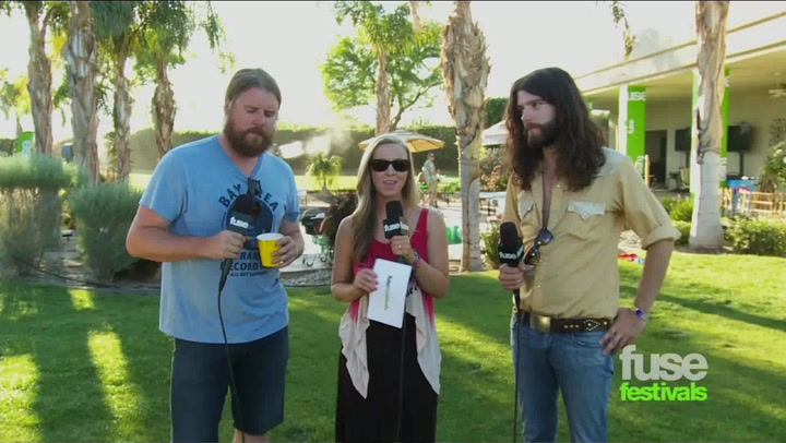 Coachella 2012: Sheep Dogs On Working With Patrick Of The Black Keys