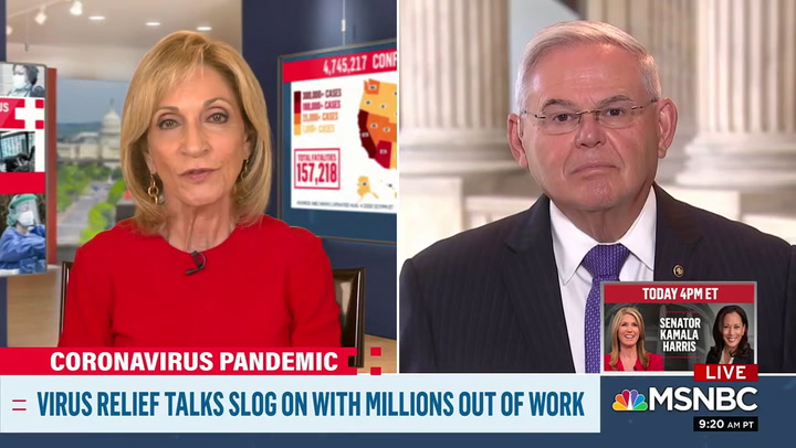 Menendez: Trump's Abdication on Coronavirus Leadership  Is 'Most Cruel' Thing I've Ever Seen