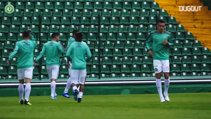 Behind the scenes: Chapecoense host Brusque