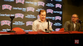 T.J. Otzelberger on UNLV win over New Mexico – VIDEO