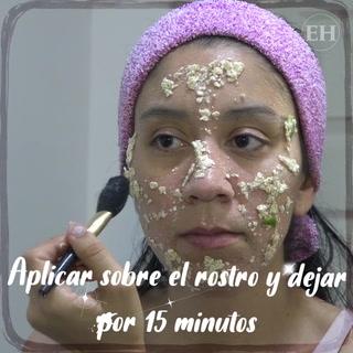 Te decimos cómo elaborar una mascarilla para piel grasa