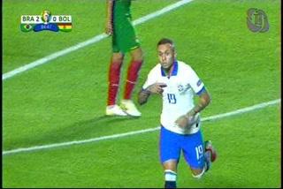 ¡GOL DE BRASIL! Everton marcar el 3-0 sobre Bolivia