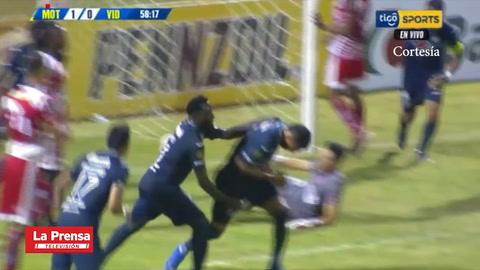 Video: El 1-0 del Motagua ante Vida anotado por Sergio Peña