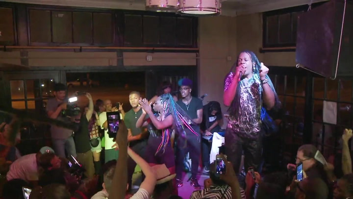 "Big Freedia Performs ""Gin In My System"" On The Just Be Free Tour"