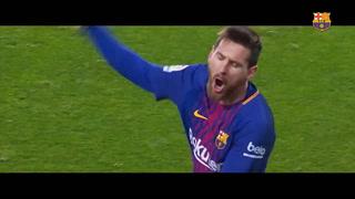 Messi impuso un récord de 672 goles en sus 17 temporadas con el Barcelona