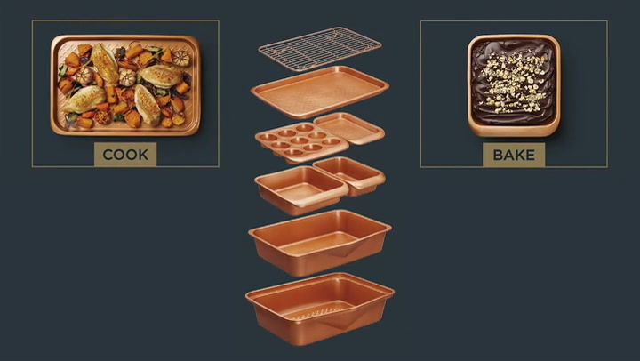 Preview image of Masterclass Smart Ceramic Bakeware Info video