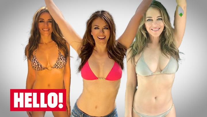 Elizabeth Hurley's best bikini looks