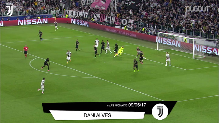 Juventus' best home goals against French teams