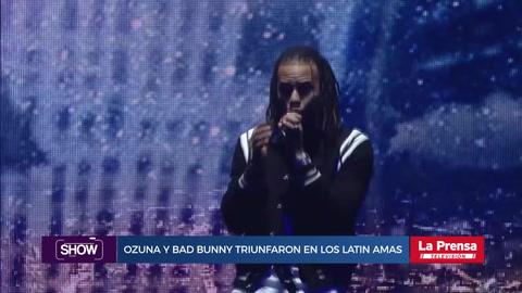 Show, resumen del 26-10-2018. Ozuna y Bad Bunny triunfaron en los Latin AMAS