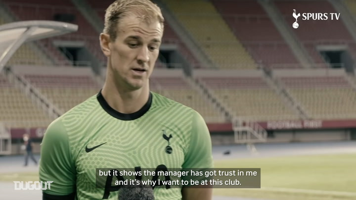 Joe Hart: 'It's an honour to wear this shirt'