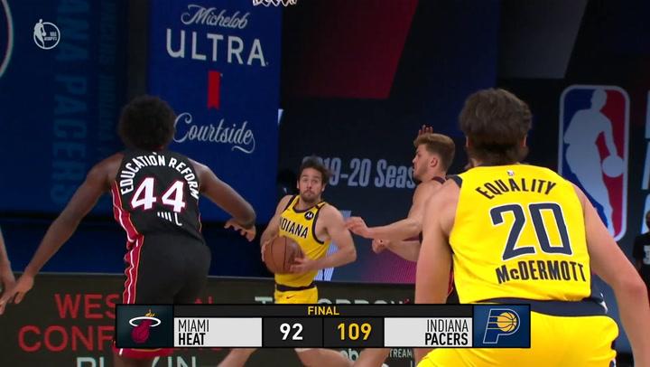 El resumen de la jornada de la NBA del 14 de agosto 2020