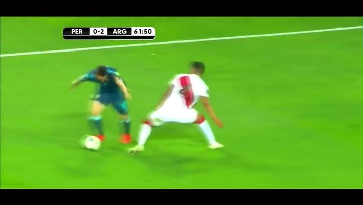 El partido de Messi ante Perú, el 17 de noviembre de 2020