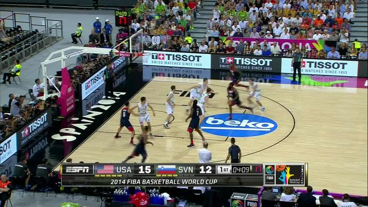 Quarterfinal Recap: USA 119, Slovenia 76