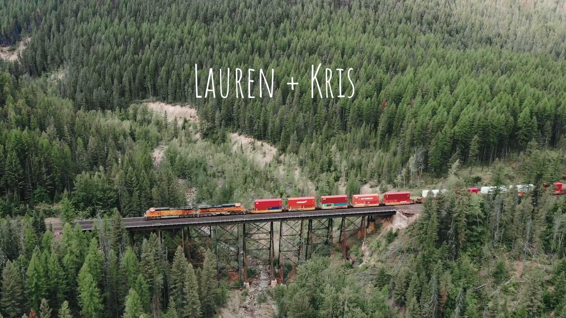 Lauren + Kris | East Glacier Park Village, Montana | Glacier National Park
