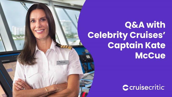 Q&A with Celebrity Cruises' Captain Kate McCue (2021)