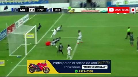 Motagua 5-2 Honduras Progreso (Liga Salvavida)