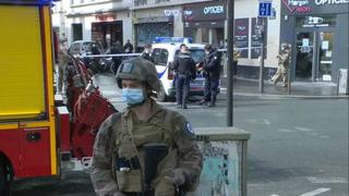 Dos heridos en París en ataque con arma blanca